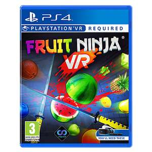 Fruit Game PS4 VR discount offer