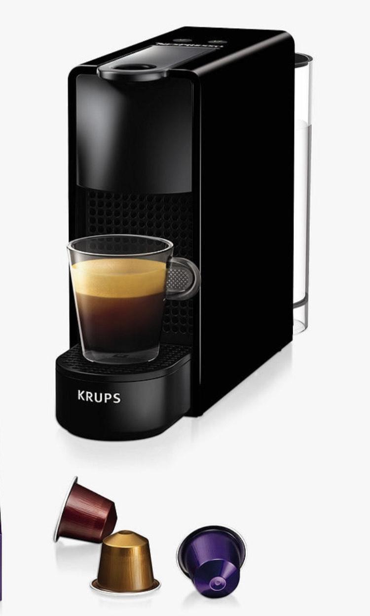 Black Nespresso Essenza Mini Coffee Machine by KRUPS with pods £62 @ Villeroy & Boch (Bicester Village)