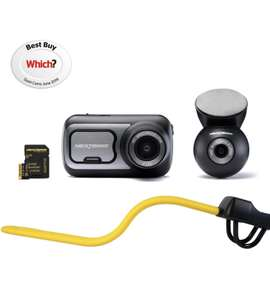 Nextbase Stoplock Dash Cam Bundle with an extra 20% discount for an old satnav £190 Halfords