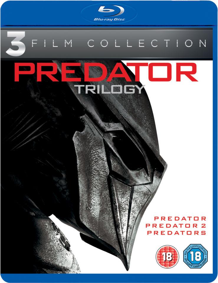 Predator Trilogy 3 Film Blu-Ray Boxset £6.69 @ Amazon UK Prime / £9.68 Non Prime (Dispatched In 2-3 Weeks)