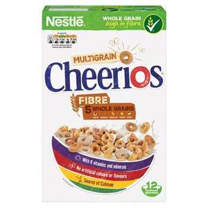 Nestle Cheerios Cereal 375g £1.27 @ Tesco instore and online