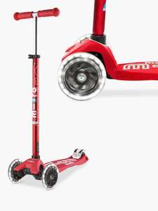 Maxi Micro Deluxe LED Scooter, 5-12 years - from £103.96  @ John Lewis & Partners