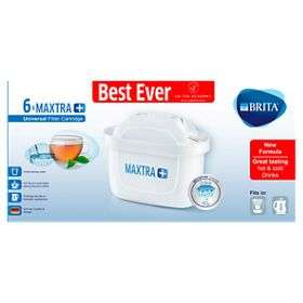 Brita MAXTRA + Water Filter Cartridges £10.50 at Asda