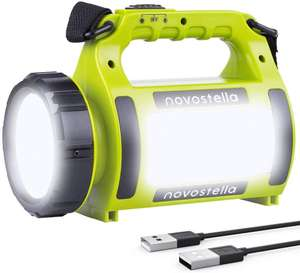 NOVOSTELLA Rechargeable CREE LED Torch for £13.81 delivered (using code) @ Amazon / Ustellar