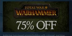Total War: WARHAMMER – £9.99 @ Steam Store discount offer