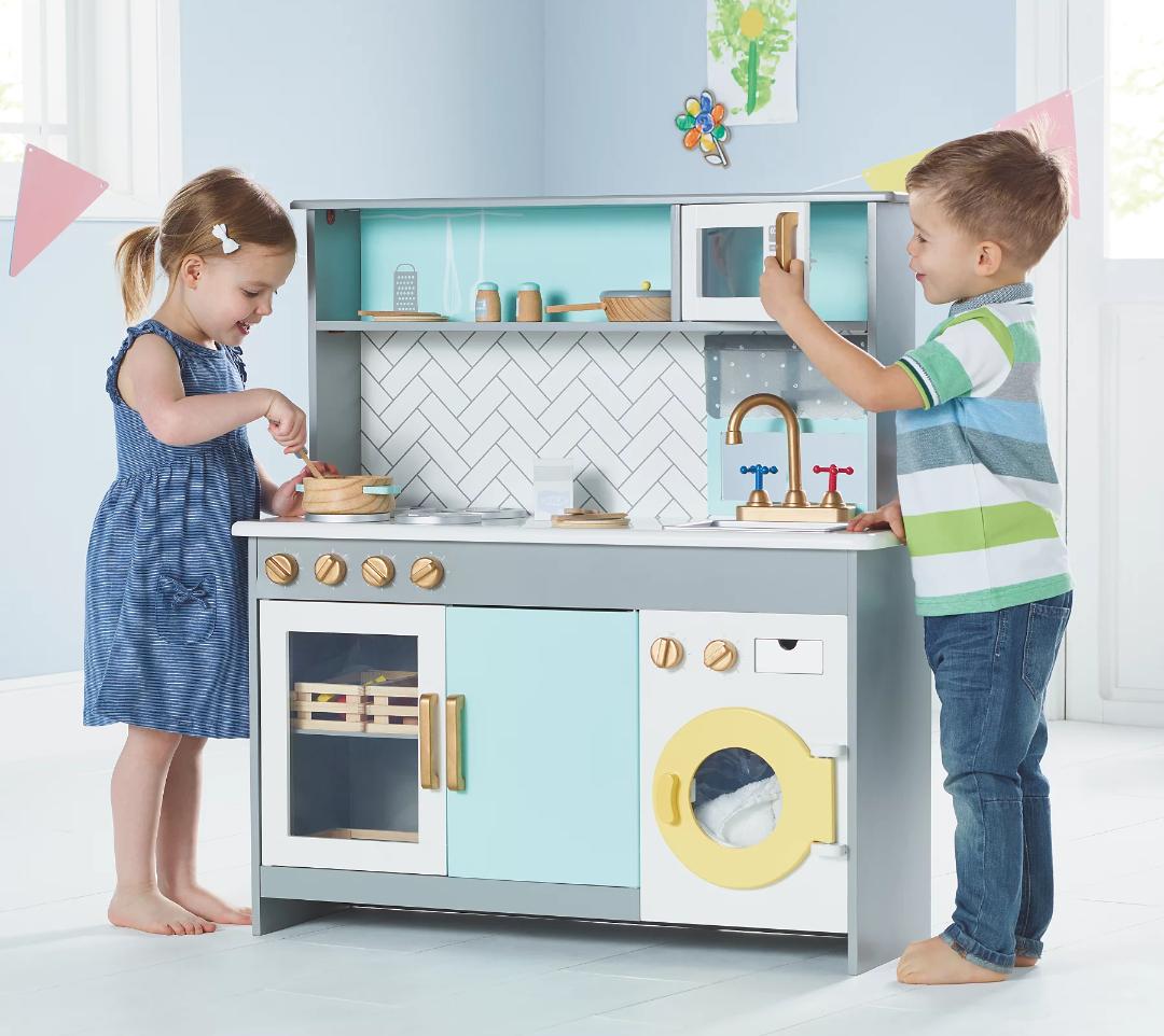 Kids Kitchen With Washing Machine - £52 / £54.95 delivered @ Asda George