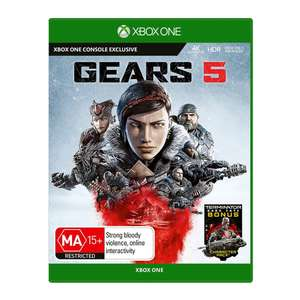 Gears 5 (Includes Gears of War 4) Xbox One / PC - £22.99 @ CDKeys