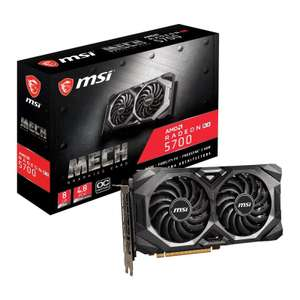 MSI Radeon RX 5700 MECH OC 8GB Graphics Card + Free Borderlands 3 £329.99 (+£3.49 delivery) at Ebuyer