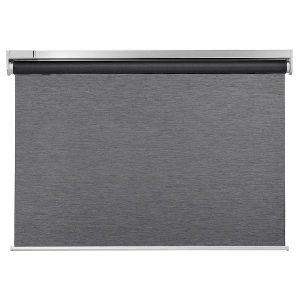 KADRILJ Roller blind, wireless, battery-operated grey various sizes e.g 60x195 £90 @ IKEA