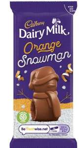 Cadbury Dairy Milk chocolate orange snowmen 3 for £1 in ASDA