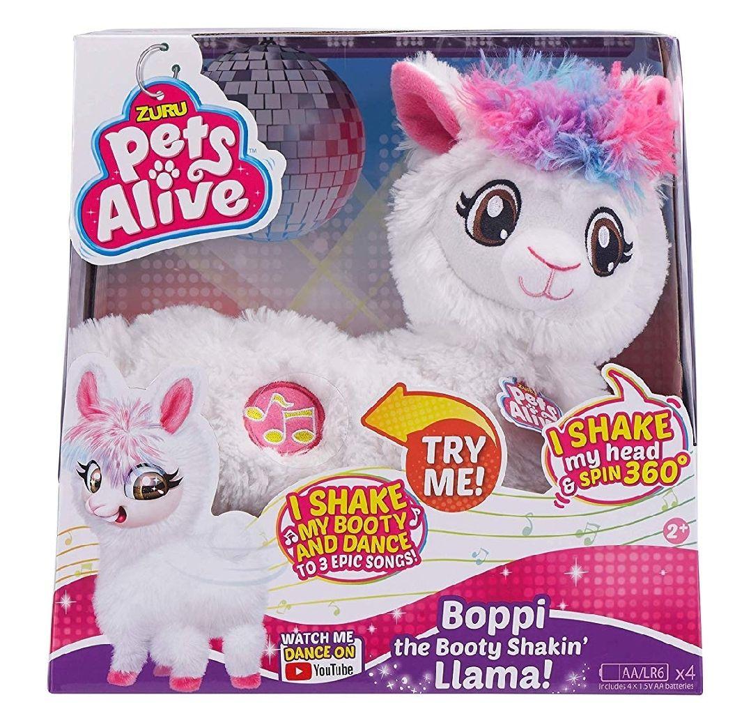 ZURU PETS ALIVE Boppi The Booty Shakin' Llama, £15 at Amazon Prime / £19.49 Non Prime