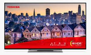 """Toshiba 43UL5A63DB (2019) LED 4K Ultra HD Smart TV, 43"""" with Freeview HD, 5 Year warranty £299 Delivered @ John Lewis & Partners"""