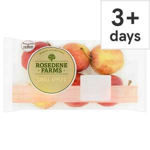 Tesco Small Pink  Apples 6pk 69p at Tesco discount offer