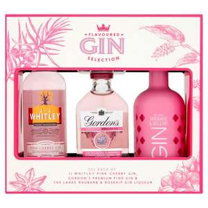 Flavoured Gin Selection 3 x 5cl  £6 @ Iceland