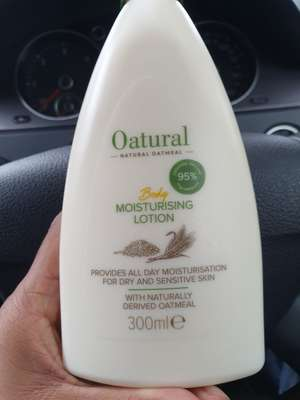 Oatural Moisterising Lotion 300ml £1.69 @ Home Bargains (Nelson)