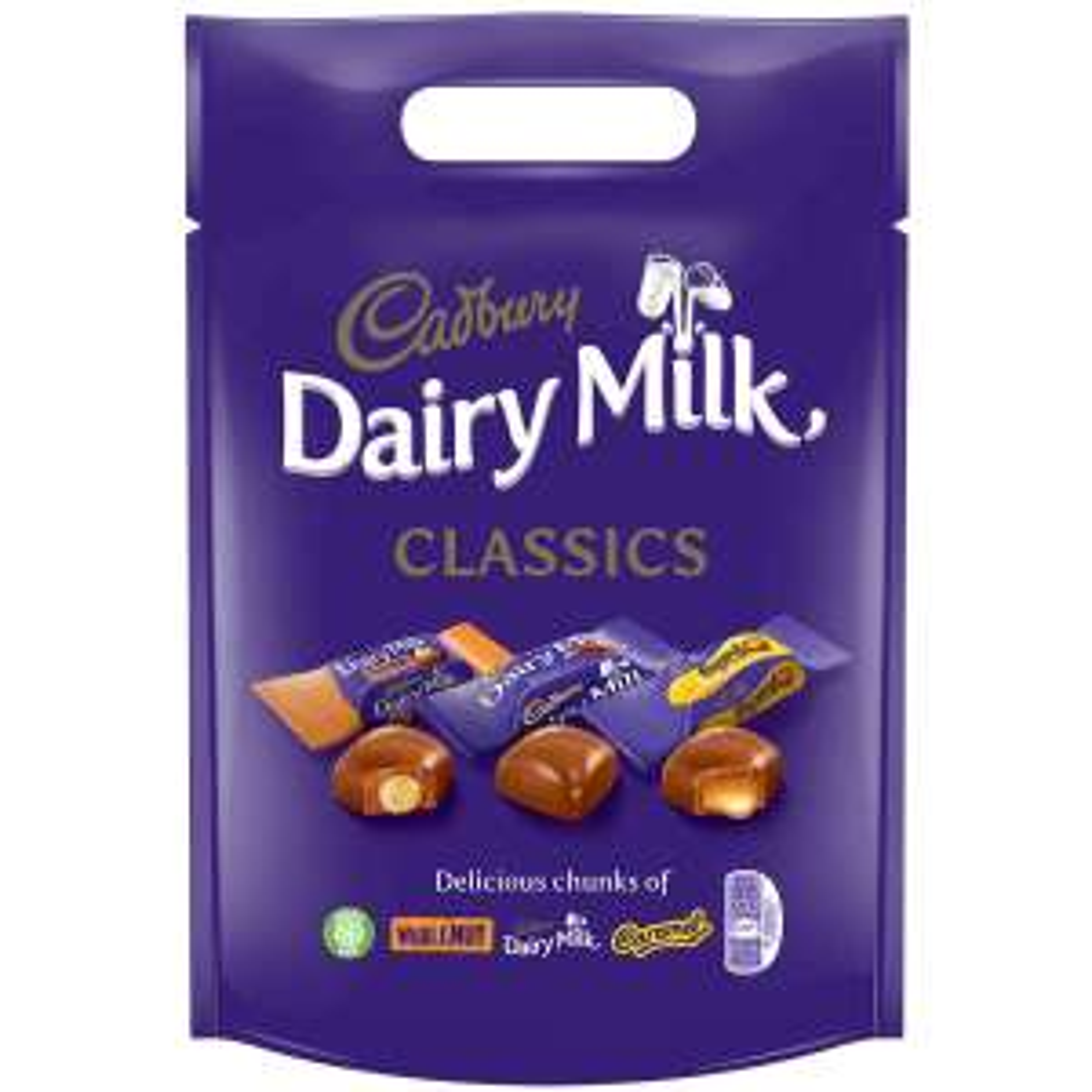 Cadbury Dairy Milk Classic Collection Chocolate Bag - £3 @ Asda