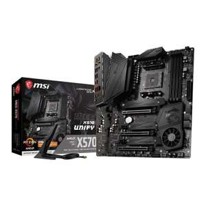 MSI X570 MEG UNIFY AM4 Motherboard & $50 Steam Gift card - Pre-order with Ebuyer - £273.48 (includes £3.49 postage)