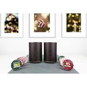 Pair of Pinecone Melt Warmers + 6 Festive Tarts - £15.00 Delivered @ Yankee Bundles