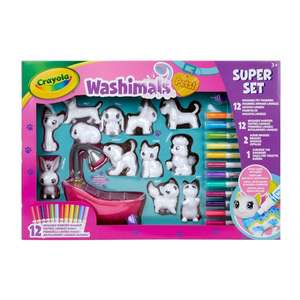 Crayola Washimals Pets Mega Set £24.99 @ Smyths