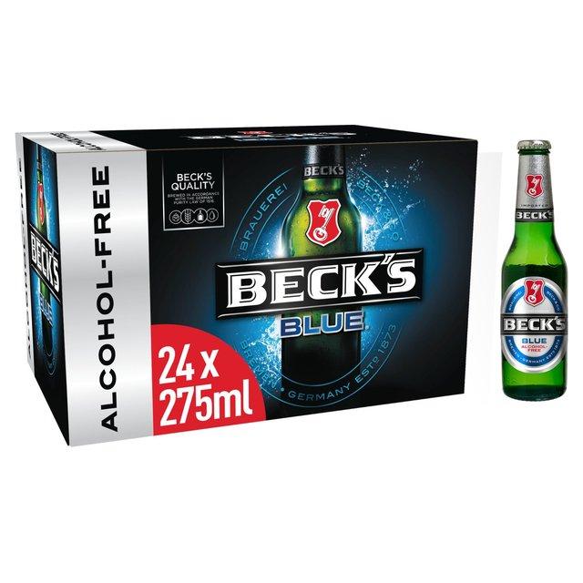24 x Beck's Blue Alcohol Free Beer 275ml – £8.99 @Ocado