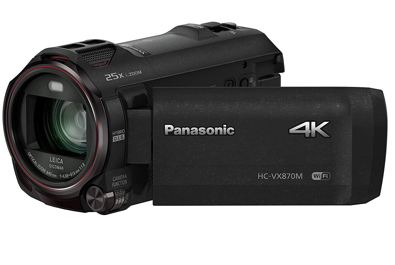 Panasonic HC-VX870EB-K 4K 30p/25p Camcorder with Wireless Twin Camera at Amazon for £249.99
