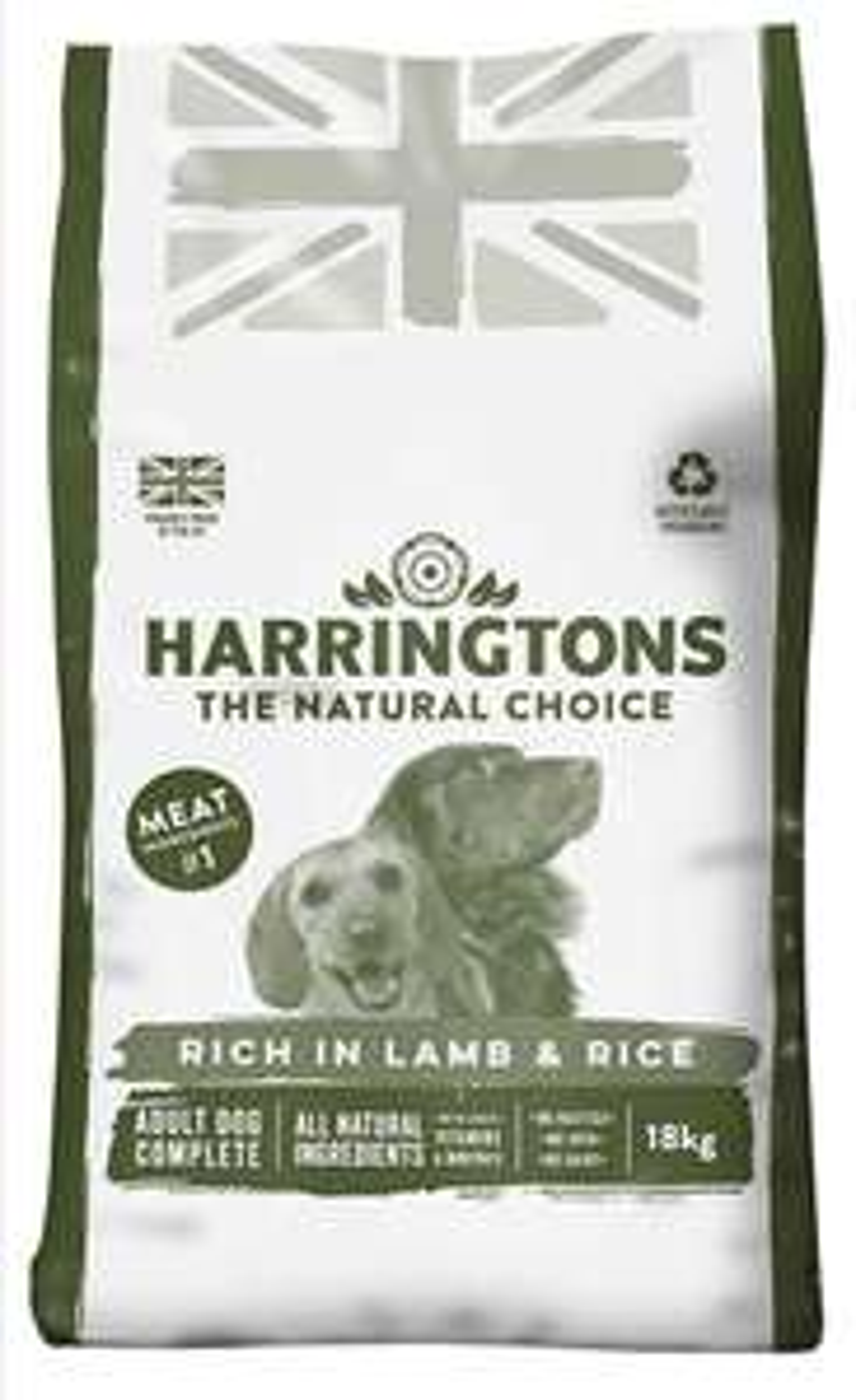 Harrington's Dry Dog Food 18kg £16.87 @ Amazon with S&S