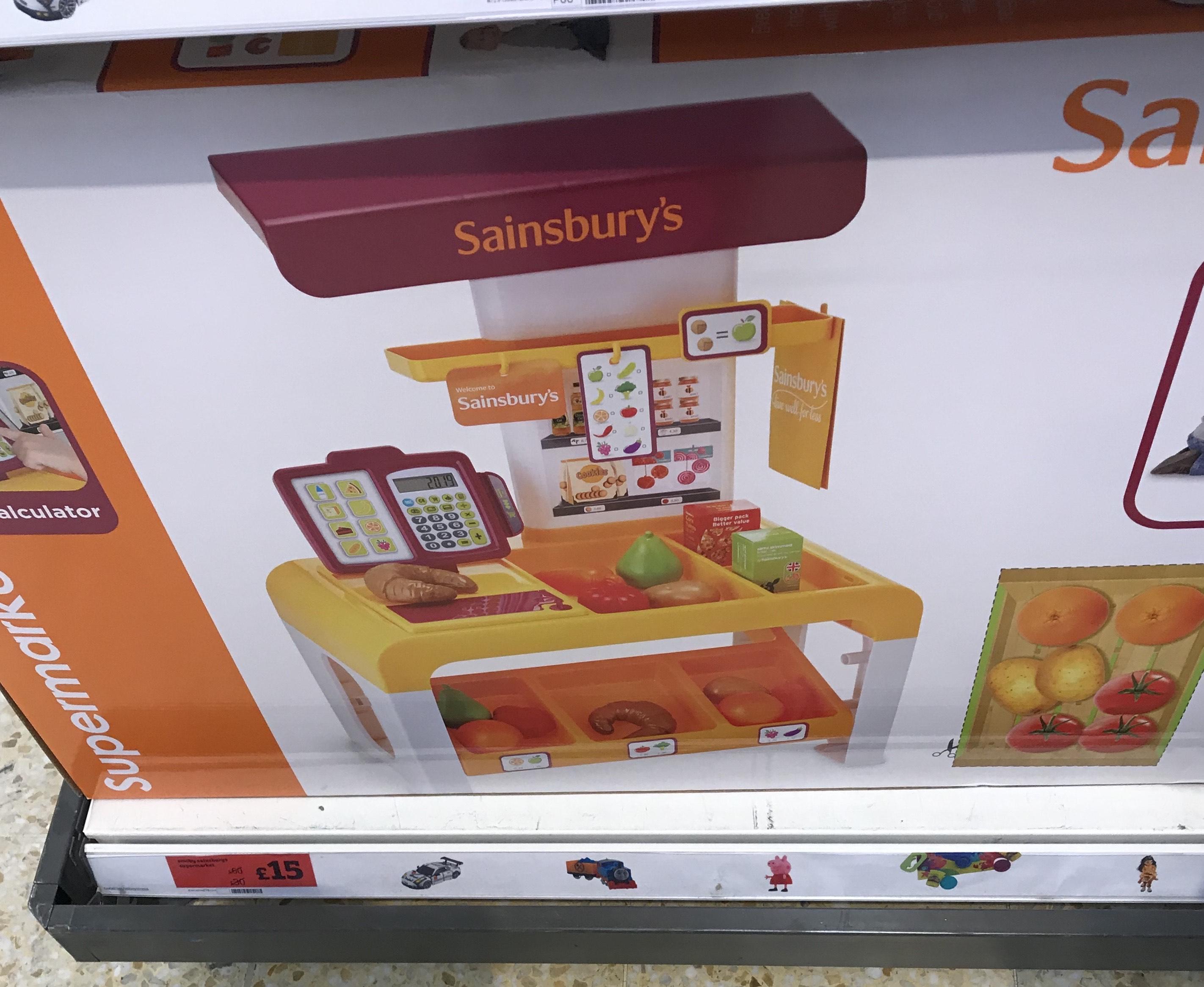 Sainsbury's Supermarket Toy 75% off - £15 instore @ Sainsburys haringey