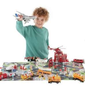 Chad Valley City 100 Piece Playset £15 instore at Sainsburys Canley