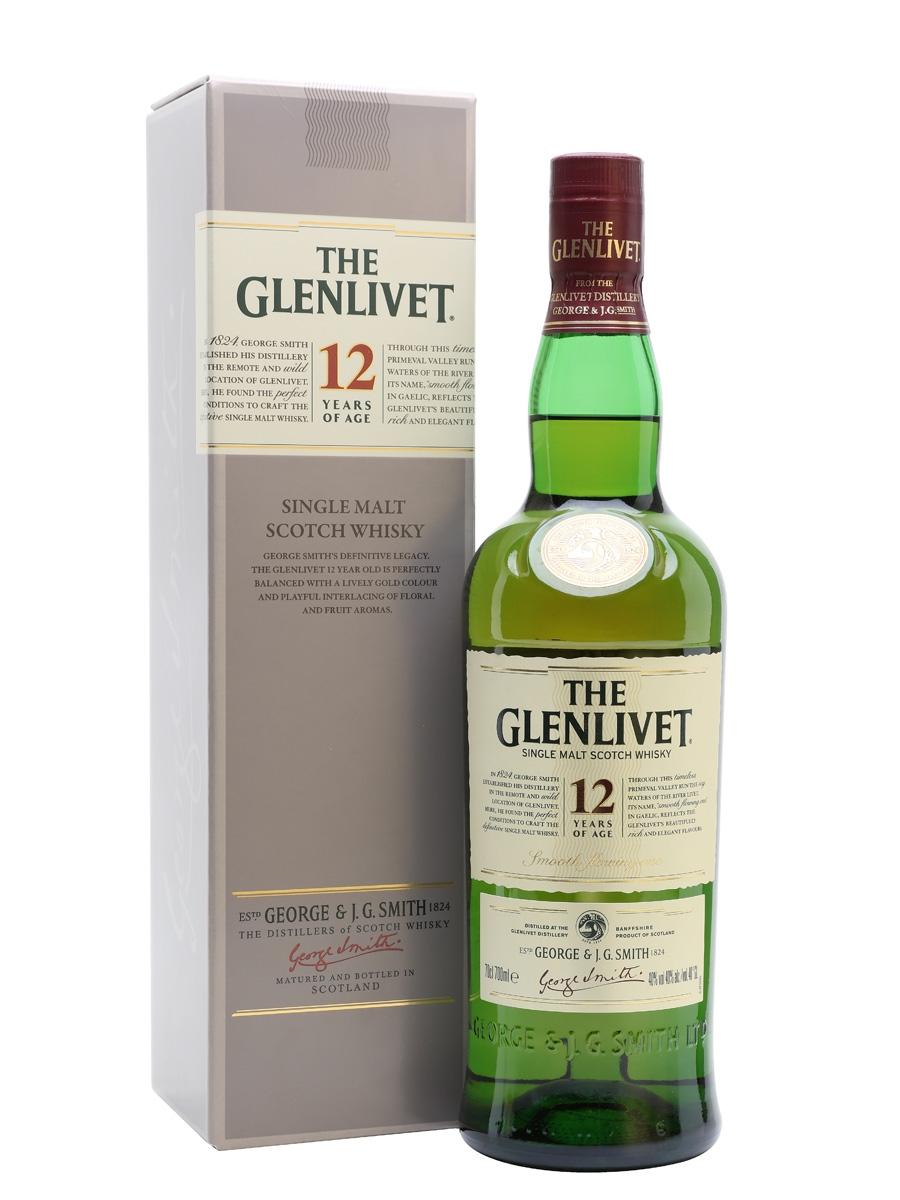 Glenlivet 12yo Whisky 70cl £15 at Morrisons Wakefield
