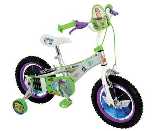 "Buzz Lightyear Kids Bike - 14"" Wheel  £65 @ Halfords"