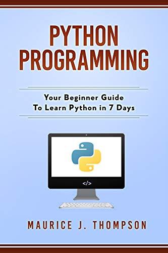 Sunday Learning Time : 4 Python Learning Kindle Edition Books - now Free @ Amazon