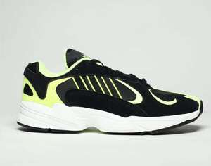 Adidas Black & Green Yung-1 Trainers £34.99 @ Schuh