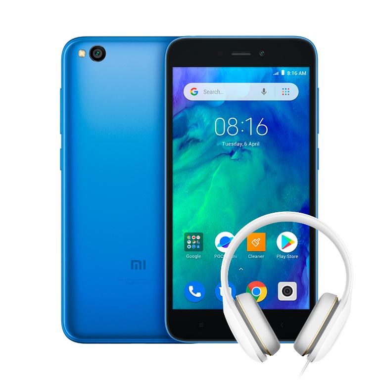 Xiaomi Redmi Go Smartphone + Free Mi Comfort Headphones £79.99 (£74.99 Via App & New Users) @ Xiaomi UK