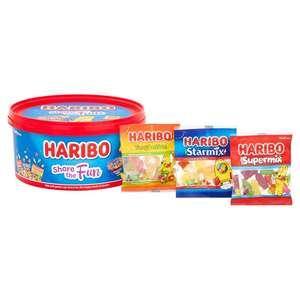 Sweet Tubs Haribo, Barratts Retro,Swizzels Variety Mix Any 2 for £5 @ Morrisons
