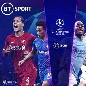 BT Sport 12 Month Subscription, with free HD for 3 months, £15 a month + £20 activation fee at Wowcher