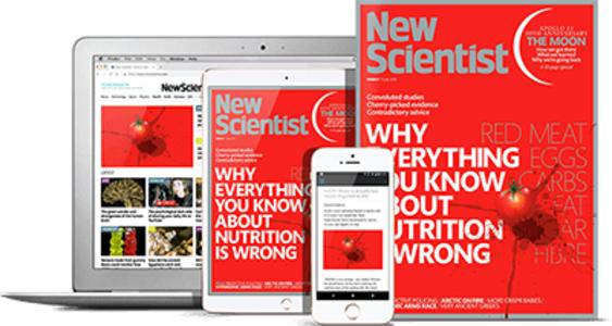 New Scientist Magazine subscription £1.91 per week - Print & Digital - £99 annually