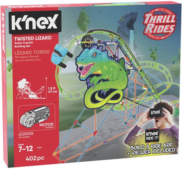 K'NEX 403 Part Twisted Lizard Roller Coaster Building Set £9.99 delivered @ Argos ebay discount offer