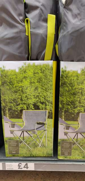 Camping Chairs £4 at Tesco Ashford Middlesex
