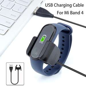 Xiaomi Mi Band 4 USB Charging Cable Replacement Charger Adapter Cable Clip £2.36 at XUANDAI Store AliExpress