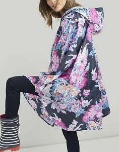 Joules Womens Poncho Packaway in NAVY FLORAL in One Size £11.36 at Joules eBay discount offer