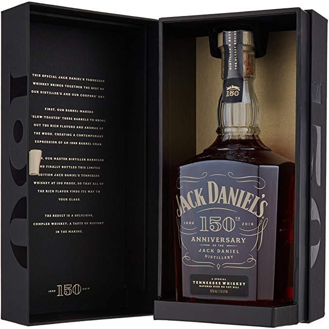 Jack Daniel's 150th Anniversary Tennessee Whiskey, 1 Litre £95 @ Amazon
