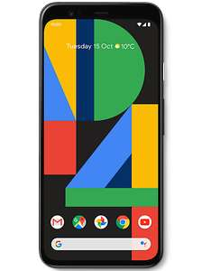 Google Pixel 4 64GB + Free HP Chromebook £519 up front £35 / 12 months on o2 (cancel sim within 14 days) @ Carphone Warehouse