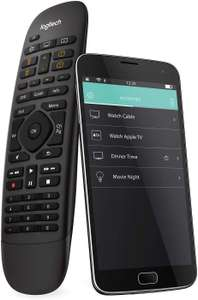 Logitech Harmony Companion (Universal All-In-One Remote Control) For Smart Home, Hub & Application £58.99 @ Amazon