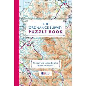 The Ordnance Survey Puzzle Book (paperback) – the works £6.00 – FREE Click & Collect