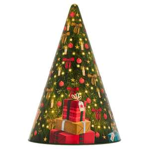 Musical Christmas Tree Cookie Tin 375G £4 @ Tesco