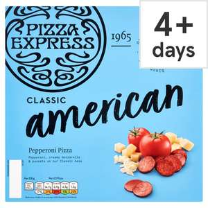 Pizza Express Pizza (4 varieties available) £2.50 at Tesco
