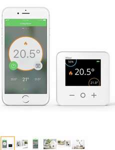 Drayton Wiser Smart Thermostat Heating Control Heating Only - Works with Amazon Alexa, Google Home and IFTTT £88.21 Amazon