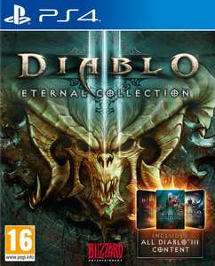 Diablo III Eternal Collection (PS4/Xbox One) £14.99 (Prime) / £17.98 (Non-Prime) Delivered @ Amazon