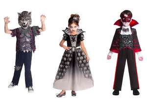 Half Price Halloween Costumes from £4 @ Morrisons