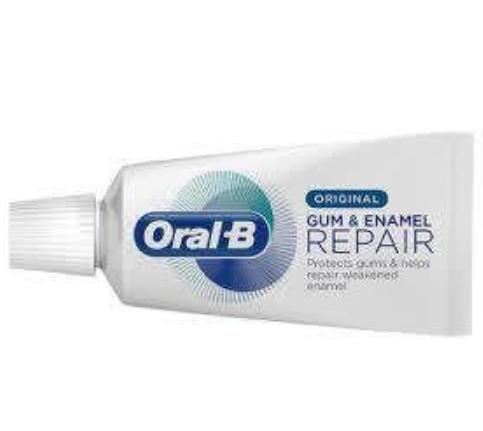 Free 15ml sample Oral B Gum & Enamel Repair toothpaste Supersavvyme